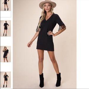 Kittenish Fringe Dress